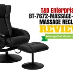 T & D Enterprises BT-7672 Massage Recliner and Ottoman Review