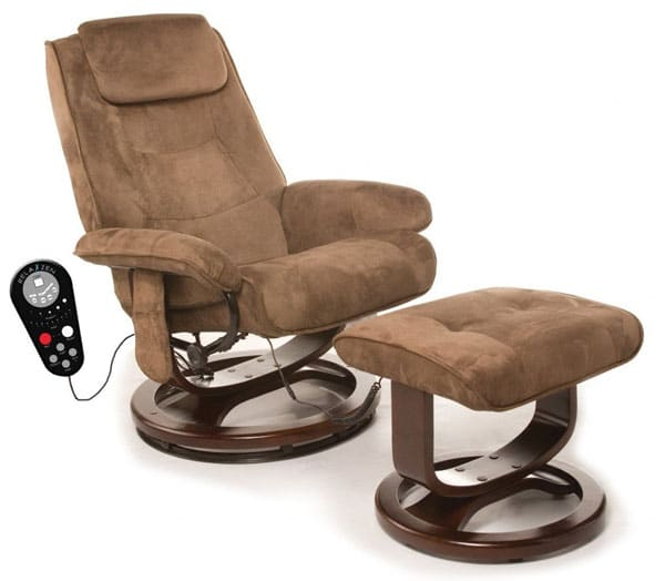 60-425111 Leisure Recliner Chair with 8-Motor Massage & Heat