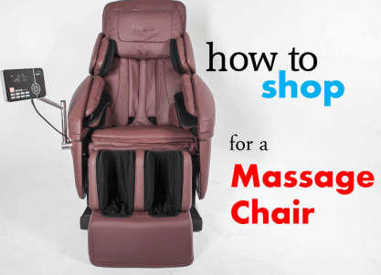 How to Shop for a Massage Chair