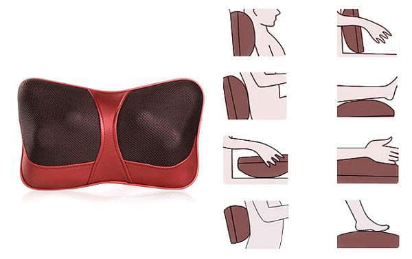 how to use massage pillow