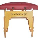 BestMassage Two Fold Burgundy Portable Massage Table review