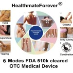 FDA cleared OTC HealthmateForever TENS unit HM6G Review