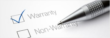 Warranties and support