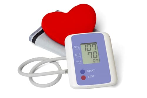 Blood pressure reduction