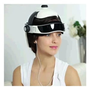 Automatic head massager