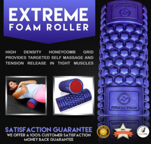 Epitome Extreme Fitness Foam Roller - satisf action guarantee
