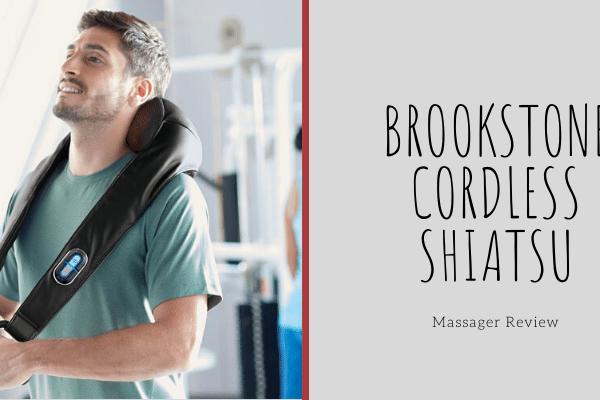 Brookstone Cordless Shiatsu