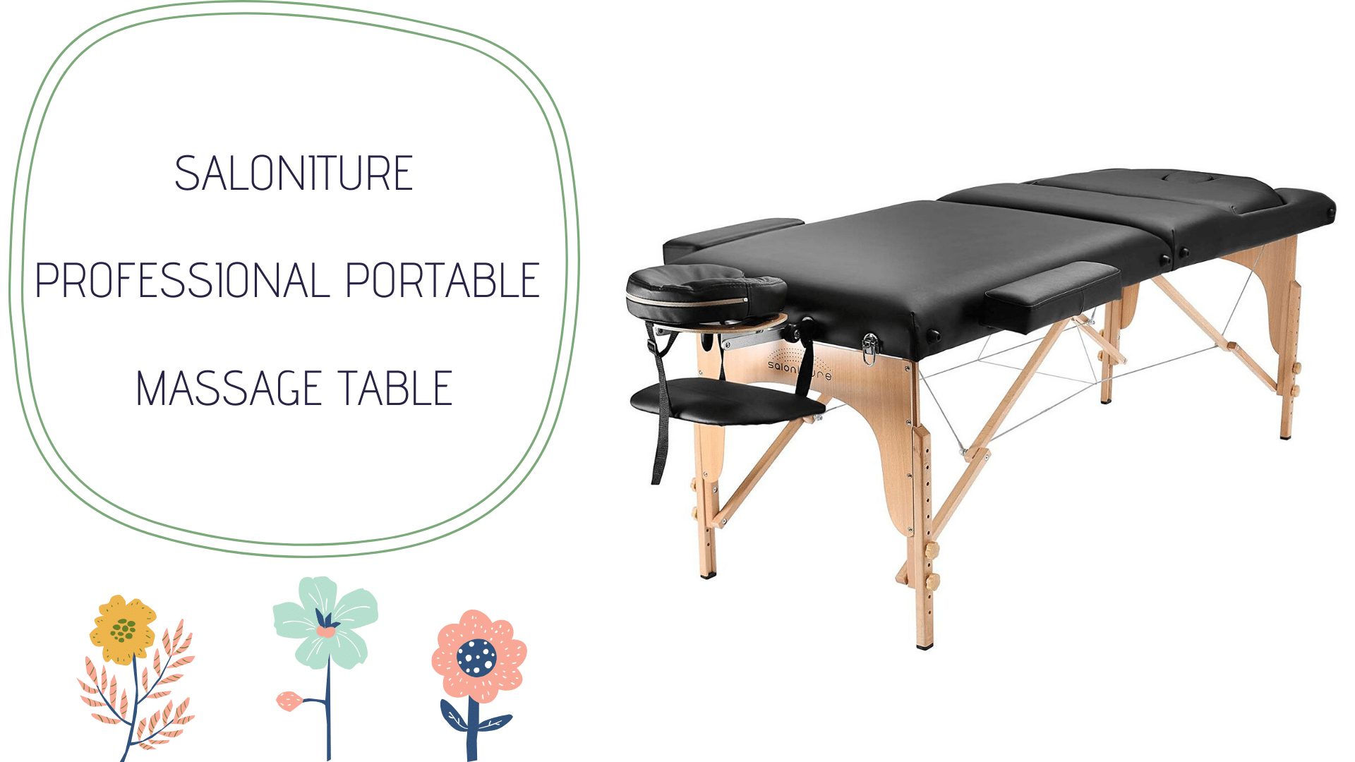 Saloniture Professional Portable Massage Table Review